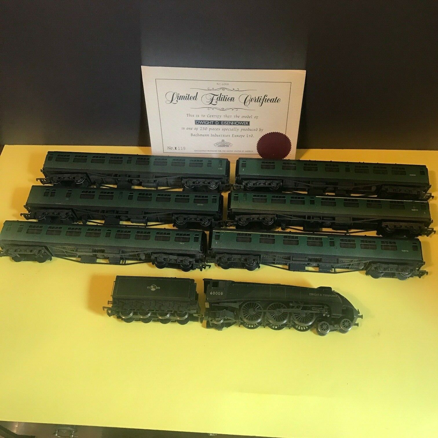 Bachmann Train Dwight Dwight Dwight D Eisenhower Limited Edition A4 First Series Set  119 310d76