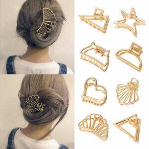 Women-Hair-Claw-Clips-Crab-Clips-Metal-Geometric-Hair-Clips-Hairpin-Accessories