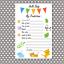 16 Baby Shower PREDICTION GAME CARDS Boy Girl Neutral Unisex Keepsake P1