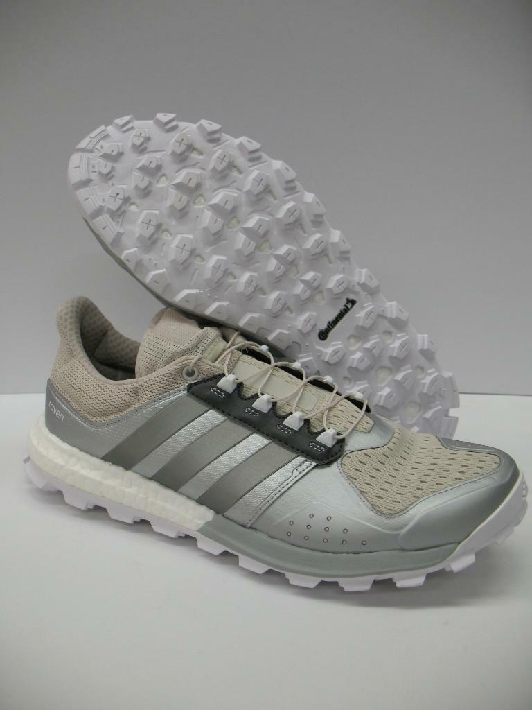 Adidas BB3944 Raven Trail Running Training Shoes Sneakers Tan Silver Womens 11