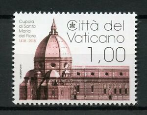 Vatican-City-2018-MNH-Santa-Maria-del-Fiore-Dome-600th-Anniv-1v-Set-Stamps