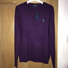 BNWT *CLEARANCE* Ralph Lauren Polo Ladies Merino Wool Jumper Size M RRP £125