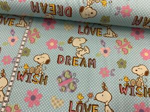 Biojersey-Peanuts-Love-Dream-Wish-hellblau-gepunktet-Snoopy
