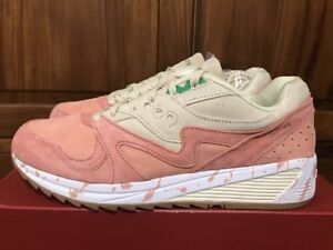 6a1919fbdd1f New Saucony GRID 8000 Pink Lobster Roll Shrimp Scampi Men Shoes ...