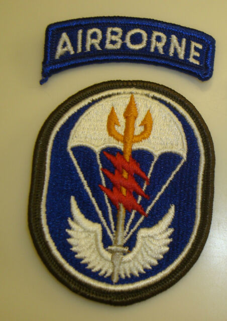 ARMY PATCH, SSI, SPECIAL OPERATIONS COMMAND SOUTH,SOCSOUTH, WITH AIRBORNE TAB
