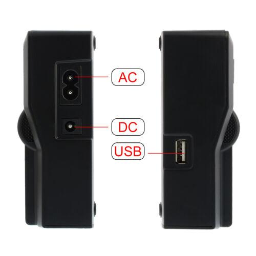 Bateria dual cargador Charger para Canon lp-e6 lp-e6n90329 eos 5d Mark II III IV