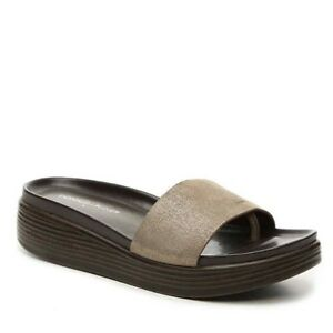 498736b43cc Donald J Pliner Women s Fiji Slide Sandals Size 5.5-marked 6.5 but ...