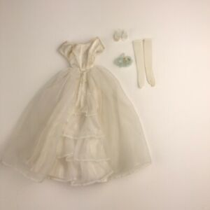 Vintage-Barbie-Doll-BRIDE-039-S-DREAM-947-Wedding-Ensemble-Mattel-1963-65