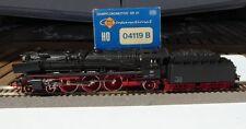 Roco 04119B Dampflok BR 01 147 mit Witteblechen DB Ep.3 bespielt in OVP, BW Hof
