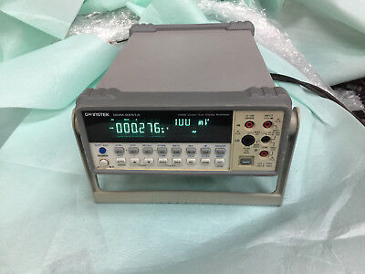 GW Instek GDM-8251A 120000 Counts 5 1/2 digit Dual Display Digital Multimeter NR