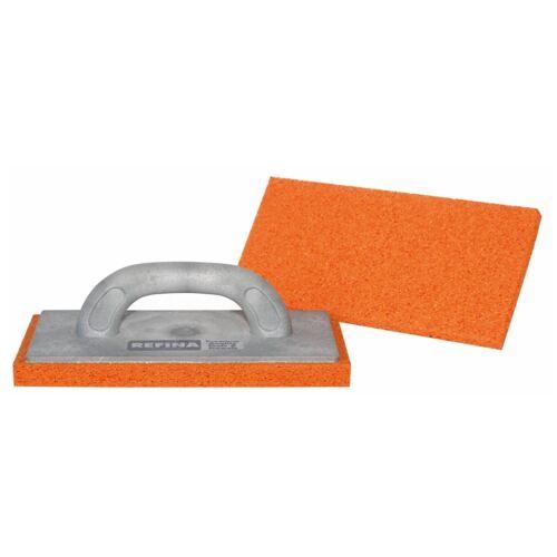 """REFINA 11/"""" rendre éponge Flotteur Medium Orange Gris Poignée 261126"""