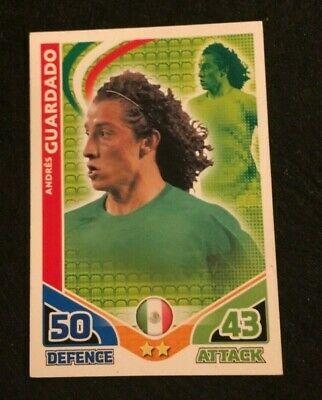 Match ATTAX world stars-Carlos salcido-Mexico
