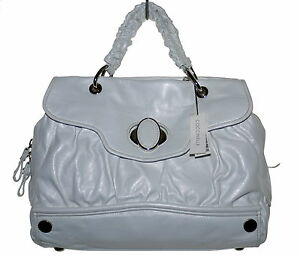 14b66a5e7 Image is loading Past-Season-Coccinelle-Handbag-White-Leather-Size-Large-