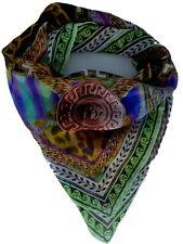 Versace Women Silk Scarf Shawl Made Italy Sciarpa donna Foulard F005GEB0822 0006