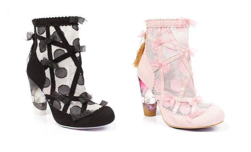 Irregular Choice SASSY Pantalones Zapatos de tacón alto botines