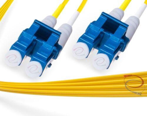 OS2 LC-LC 9//125 Singlemode Duplex Fiber Cable 45 Meter