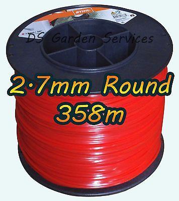 Stihl 2.7mm Round Trimmer Line 358m 0000 930 2289 Strimmer Brushcutter Mowing