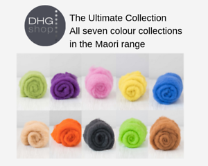 Carded-DHG-New-Zealand-Maori-Felting-Wool-The-Ultimate-Collection