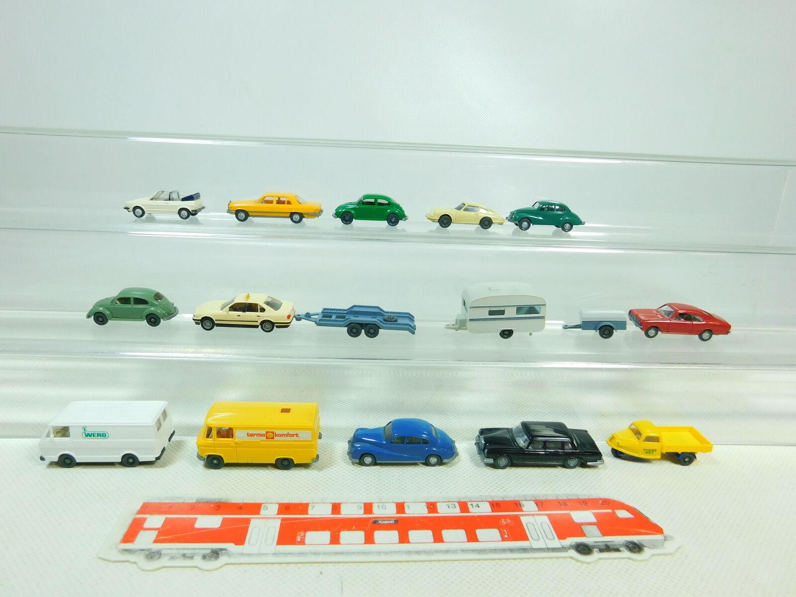 BT461-0,5 x Wiking H0   1 87 Car etc.   Porsche 911+ MB + BMW + VW