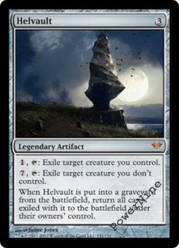 1 FOIL Helvault Artifact Dark Ascension Mtg Magic Mythic Rare 1x x1