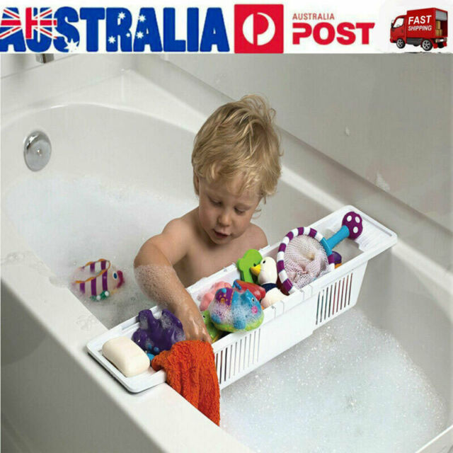 2020 Kids Shower Bath Tub Toy Organizer Basket Adjustable Storage Caddy Holder