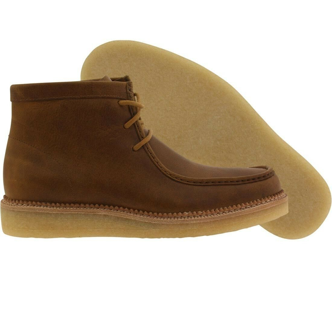 214.00 Clarks Uomo Beckery Hike bronze brown leather 26110048