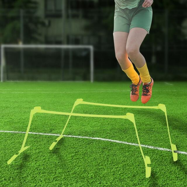772e92d6315e8 2pcs Football Soccer Training Aid Agility Ladder Speed Hurdles Cones  Markers Kit