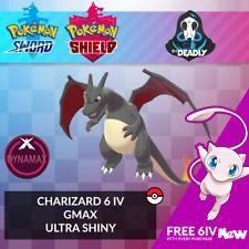 Pokemon Sword Shield | ✨Ultra Shiny✨ GMAX Charizard 6IV + FREE MEW
