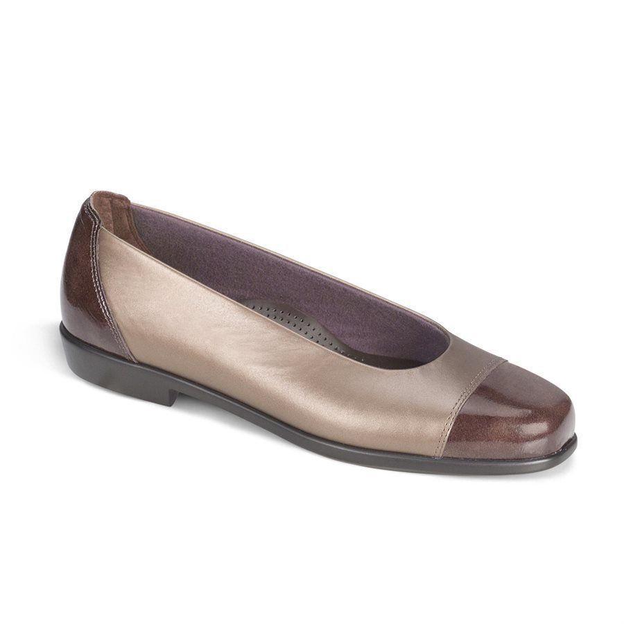 SAS SAN ANTONIO SHOEMAKERS COMFORT COCO Schuhe COCO COMFORT M BRONZE Größe 10.5 M 3d4afc