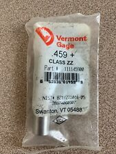"""VERMONT GAGE PIN PLUG GAGE .266/"""" PLUS CLASS ZZ 52100 ALLOY TOOL STEEL"""