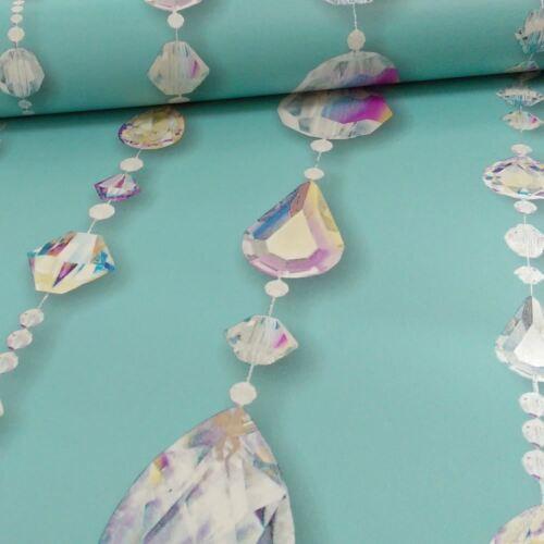NEW ARTHOUSE OPERA CRYSTAL NECKLACE PATTERN DIAMOND GLAMOUR METALLIC WALLPAPER