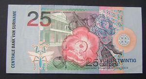 Suriname-25-gulden-2000-PICK-148-PR-XF