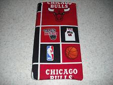 Sunglass / Eyeglass Soft Fabric Case - Chicago Bulls  Basketball - NBA - NEW!