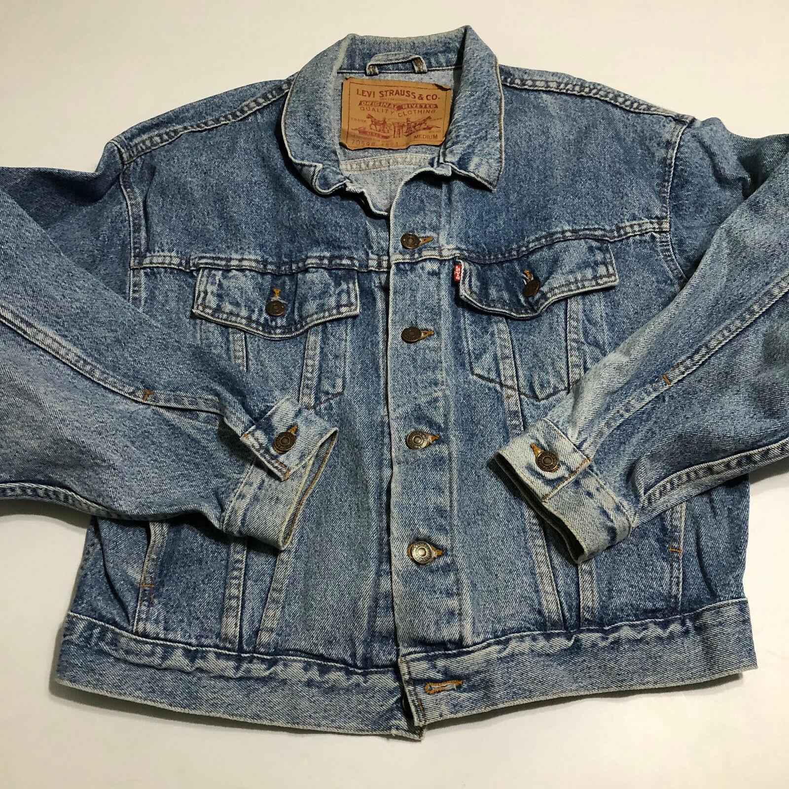 Vintage 80 90's LEVIS 70598-4891 USA Acid Washed … - image 1