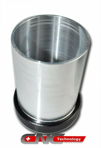 """Alloy Tank Filler Neck Cap 2/"""" OD Weld on Aluminium Expansion Tank  with O-Ring"""