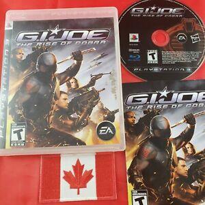 GI-Joe-Rise-Of-Cobra-PS3-sony-playstation-3-CIB-RARE
