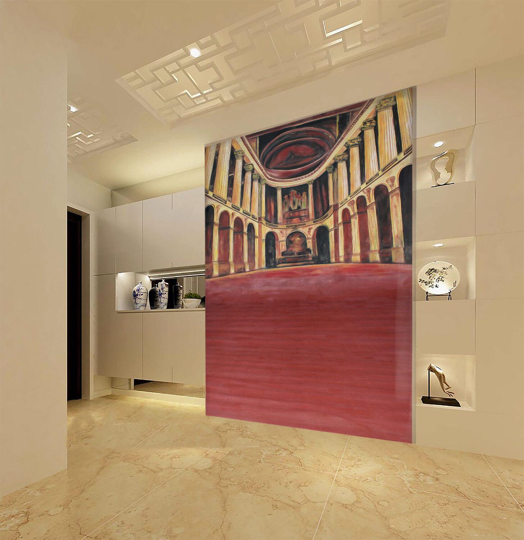 3D Königspalast Palast  96 Tapete Wandgemälde Tapete Tapeten Bild Familie DE