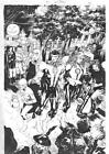 Ed Benes GREEN LANTERNS 8 page 2 Drawing Published Original Art