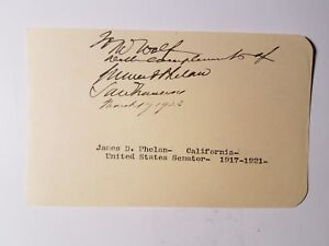 California-Senator-James-Phelan-autograph-1923