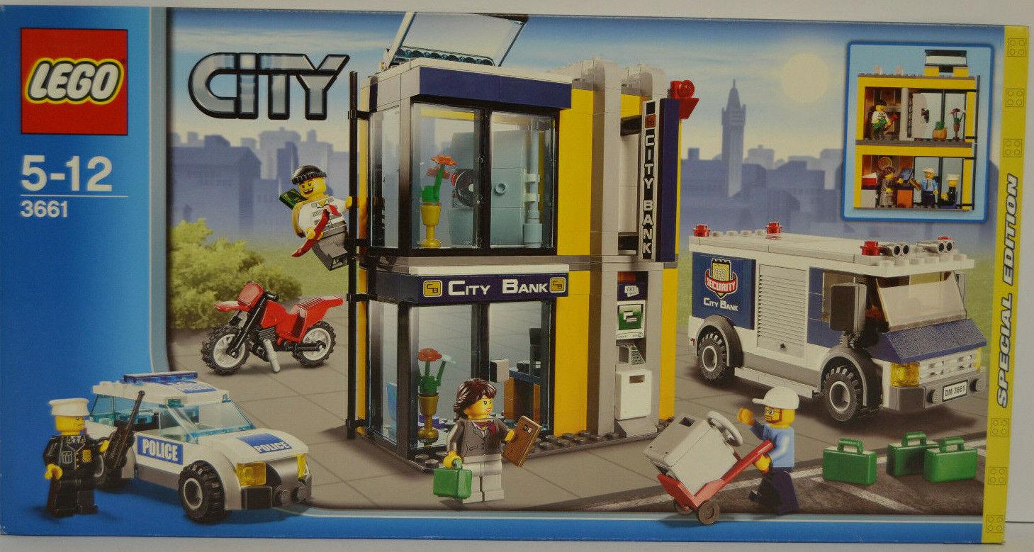 Lego 3661 cambriolage avec fourgon et police NOUVEAU & NEUF dans sa boîte En parfait état, dans sa boîte scellée