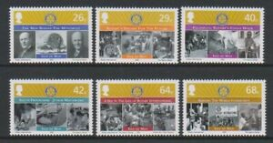 Isle-of-Man-2005-Rotary-International-set-MNH-SG-1231-6