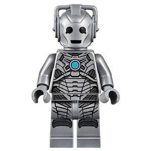 LEGO-Doctor-Who-Rare-Original-Cyberman-Minifig-New