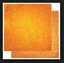 Naranja Cítricos Vintage X 2 Hojas BoBunny 12x12 papel scrapbooking Doble Dot