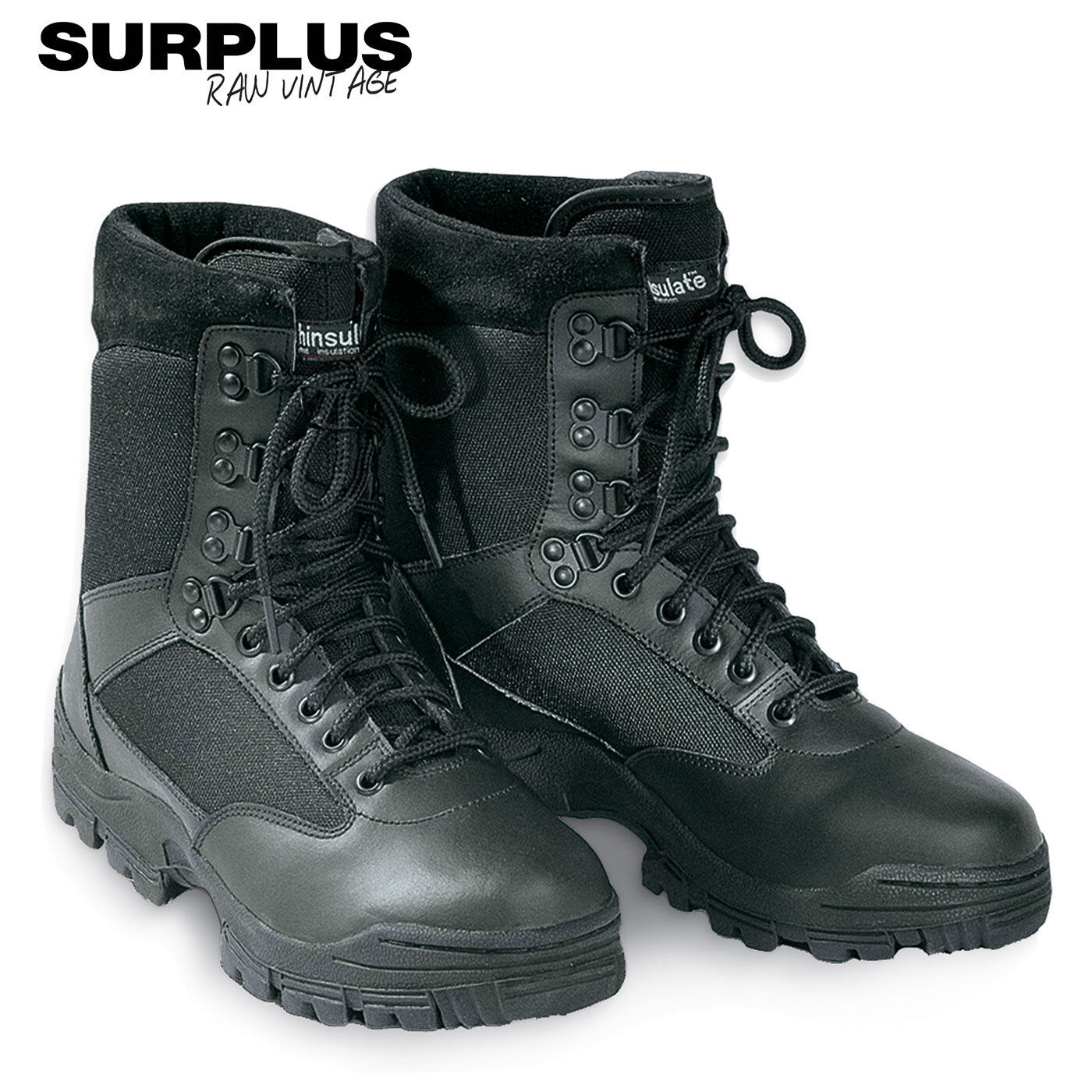 Surplus Security Boots Worker 9loch STIVALI SCARPE DA LAVORO Worker Boots Gotcha paintball 36b88d