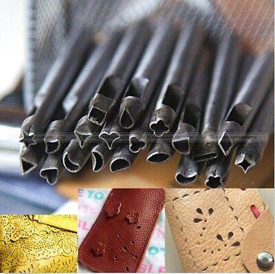 20 Styles Leathercraft Shape Hole Punch Leather Crafts Tools DIY CRAFT030