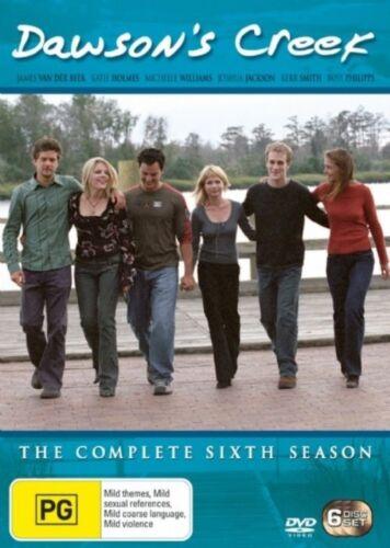 1 of 1 - Dawson's Creek: Season 6 (DVD, 2006, 6-Disc Set), NEW SEALED REGION 4