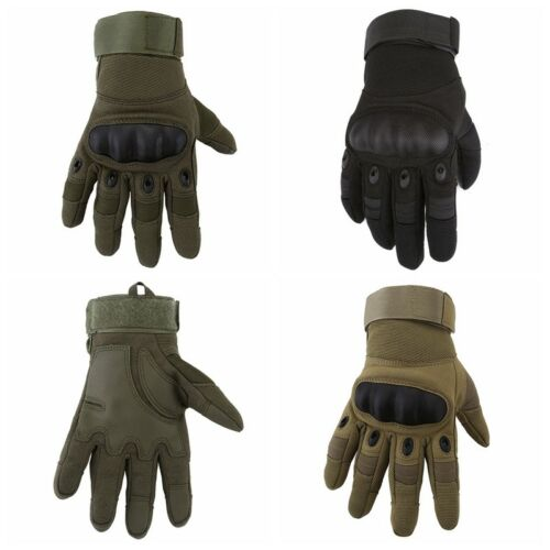 Non Slip Motorcycle Tactical Hiking Camping Powersports Knuckle Gloves Gift