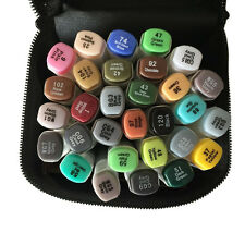 30 Color Sketch Marker Pen Professional Artist Brushwork Markers School Supplies