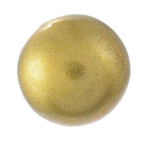 1 Golden Perlen Mexican Ball Klangkugel Anhänger Schutzengel 18mm