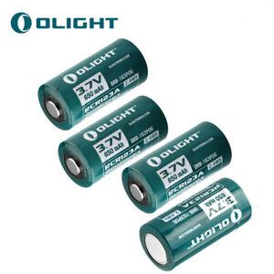 4pcs-OLIGHT-RCR123A-16340-Lithium-ion-Battery-650-mAh-3-7V-for-High-Drain-Device